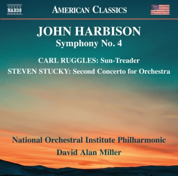 Harbison - Symphony no.4; works by Ruggles & Stucky | Naxos - American Classics 8559836