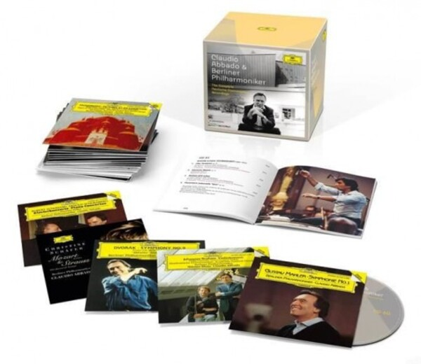 Claudio Abbado & Berliner Philharmoniker: Complete Recordings on Deutsche Grammophon | Deutsche Grammophon 4835183