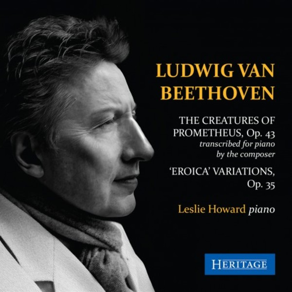 Beethoven - The Creatures of Prometheus (arr. for piano), �Eroica� Variations