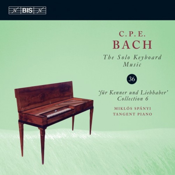 CPE Bach - Solo Keyboard Music Vol.36