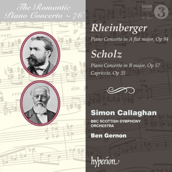 The Romantic Piano Concerto Vol.76: Rheinberger & Scholz