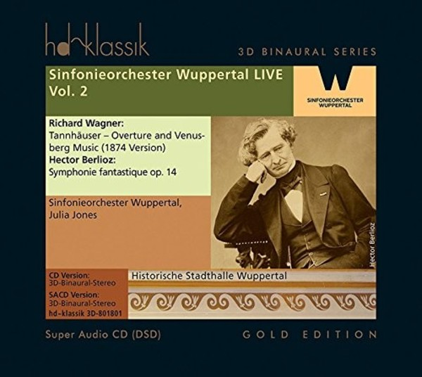 Sinfonieorchester Wuppertal Live Vol.2: Wagner & Berlioz