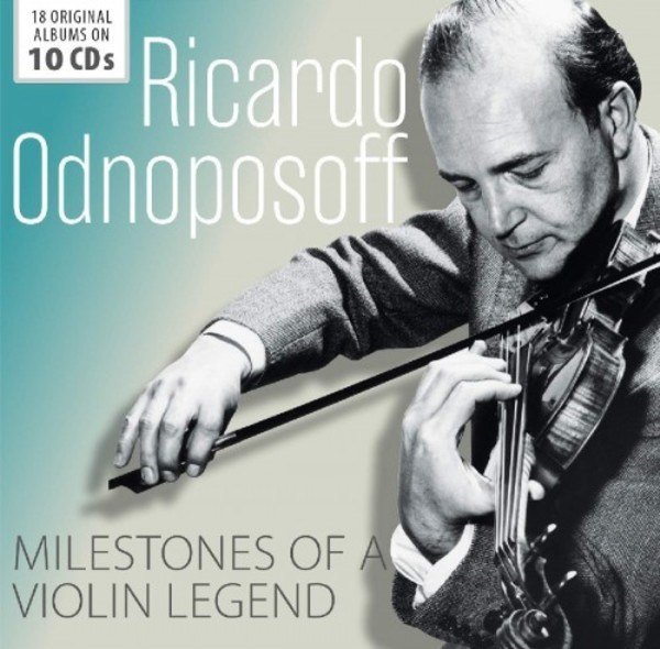 Ricardo Odnoposoff: Milestones of a Violin Legend | Documents 600476