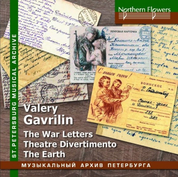 Gavrilin - The War Letters, Theatre Divertimento, The Earth