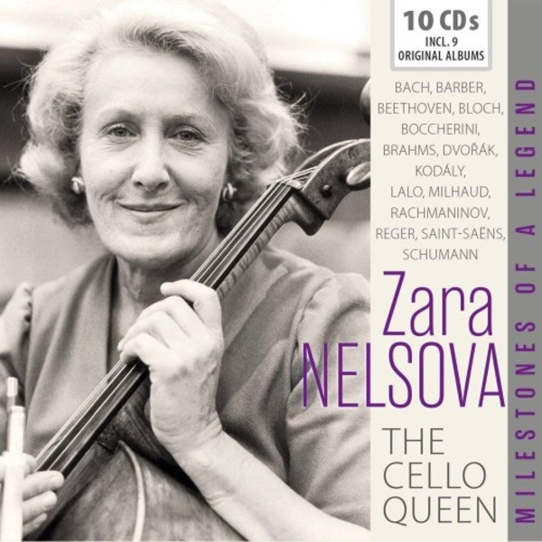Zara Nelsova: The Cello Queen | Documents 600475