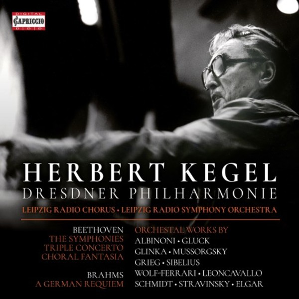 Herbert Kegel conducts Beethoven Symphonies & Other Works | Capriccio C7275