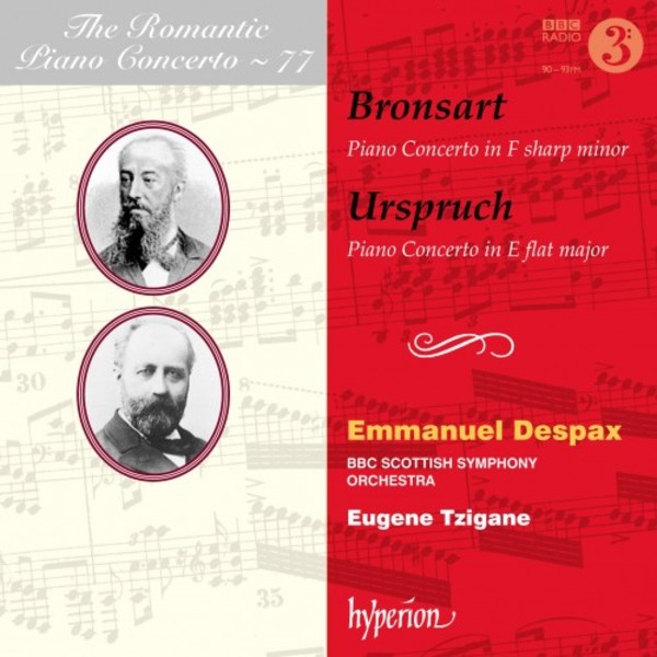 The Romantic Piano Concerto Vol.77: Bronsart & Urspruch