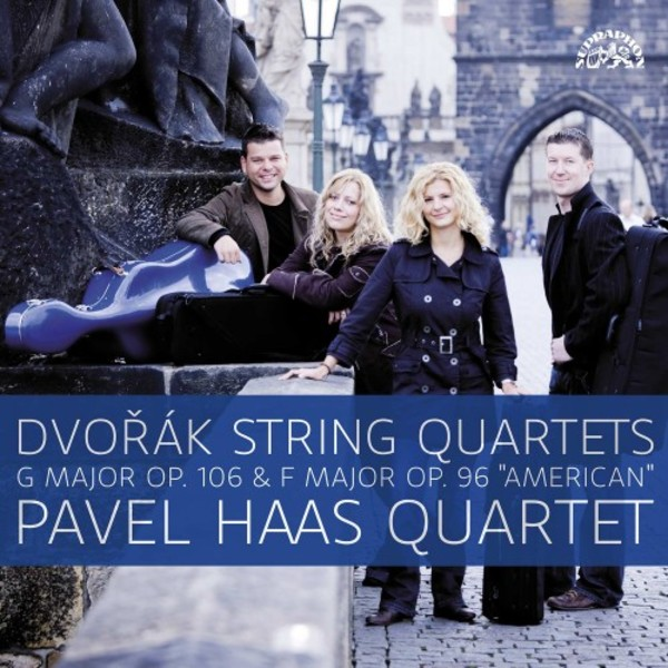 Dvorak - String Quartets opp. 106 & 96 (LP)