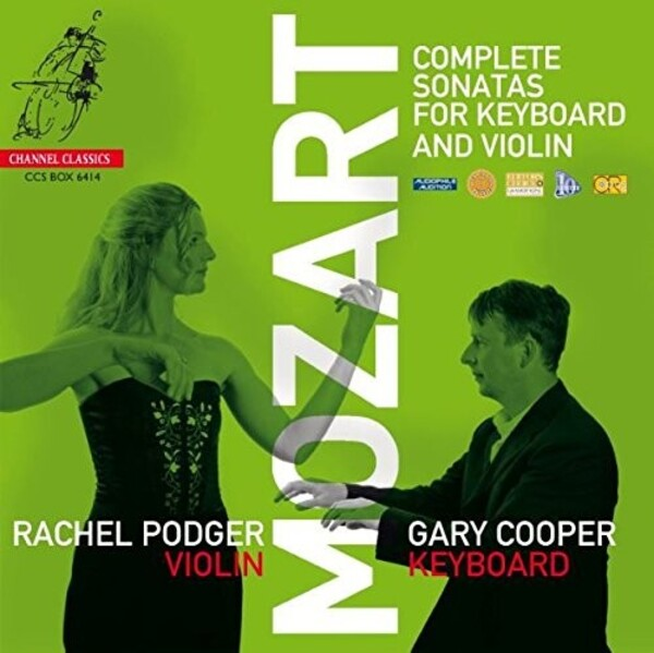 Mozart - Complete Sonatas for Keyboard & Violin | Channel Classics CCSBOX6414