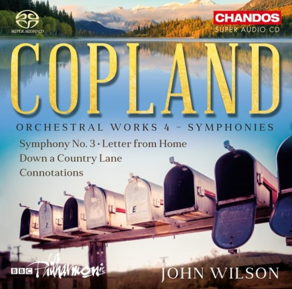 Copland - Orchestral Works Vol.4 | Chandos CHSA5222