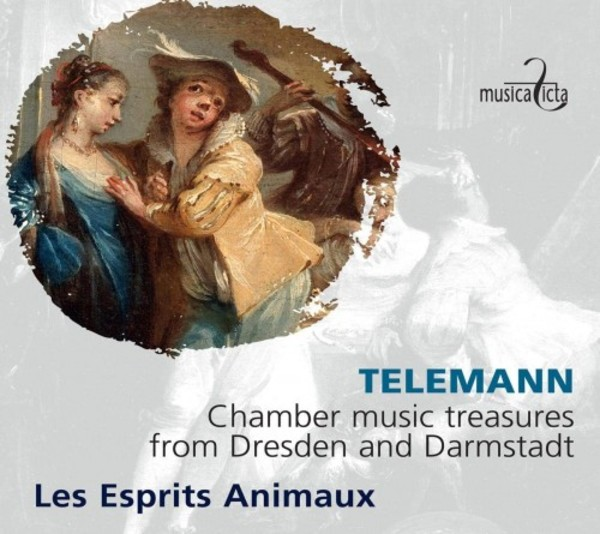 Telemann - Chamber Music Treasures from Dresden and Darmstadt | Musica Ficta MF8029