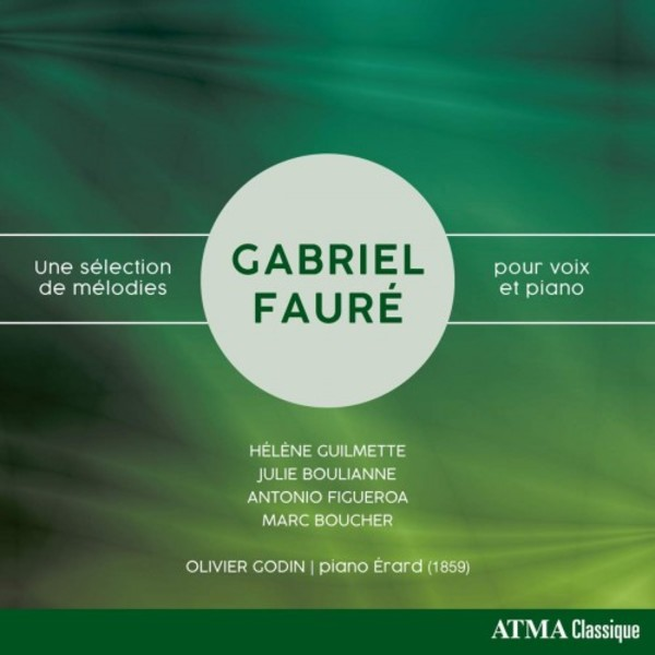 Faure - A Selection of Melodies for Voice and Piano
