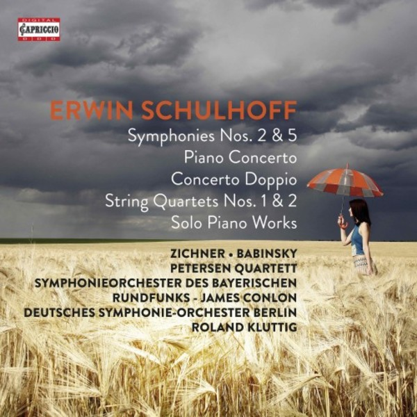 Schulhoff - Orchestral, Chamber & Solo Instrumental Works | Capriccio C7297