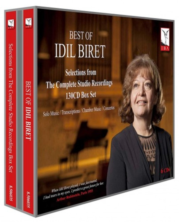 Best of Idil Biret: Selections from the Complete Studio Recordings