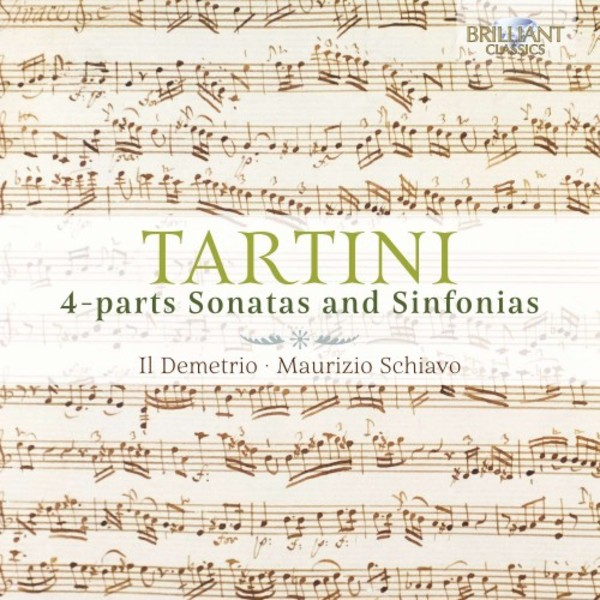 Tartini - 4-part Sonatas and Sinfonias