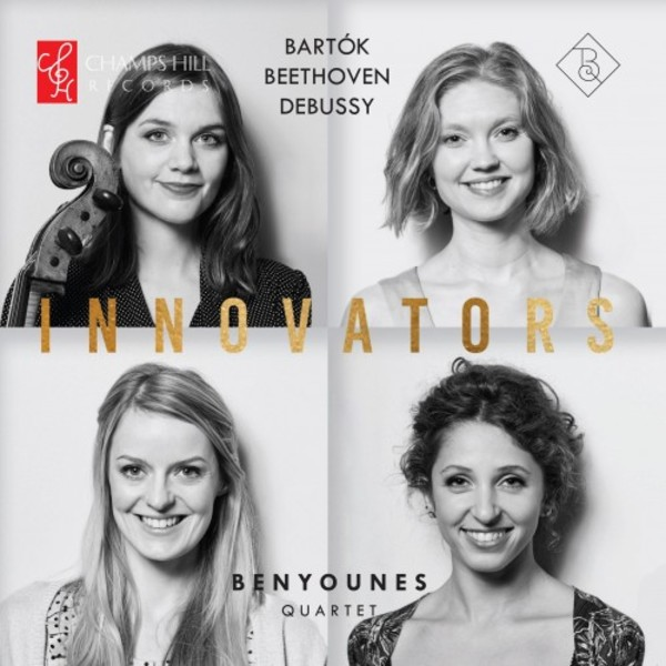 Innovators: String Quartets by Bartok, Beethoven & Debussy