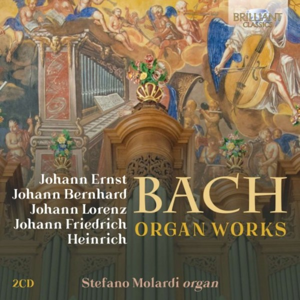 Bach Family - Organ Works