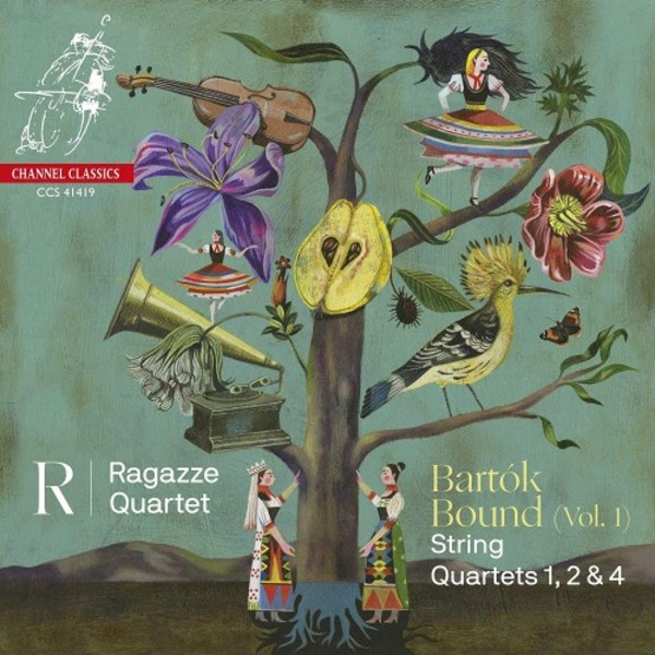 Bartok Bound Vol.1: String Quartets 1, 2 & 4