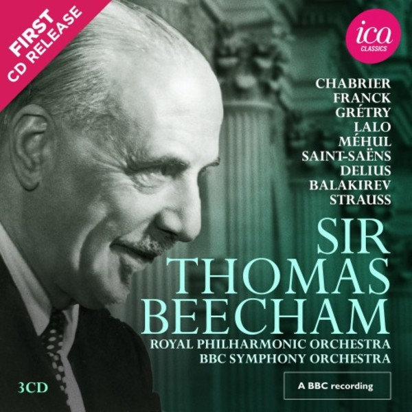 Sir Thomas Beecham Vol.2 | ICA Classics ICAC5158