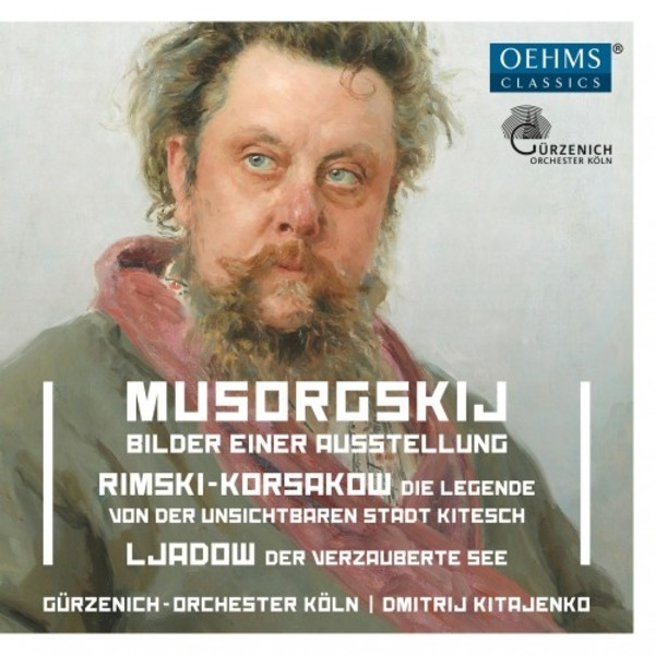 Mussorgksy - Pictures at an Exhibition; Rimsky-Korsakov - The Invisible City of Kitezh | Oehms OC469