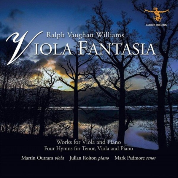 Vaughan Williams - Viola Fantasia: Works for Viola and Piano | Albion Records ALBCD036