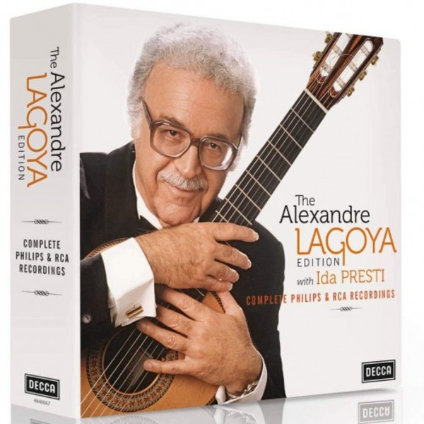 The Alexandre Lagoya Edition: Complete Philips & RCA recordings