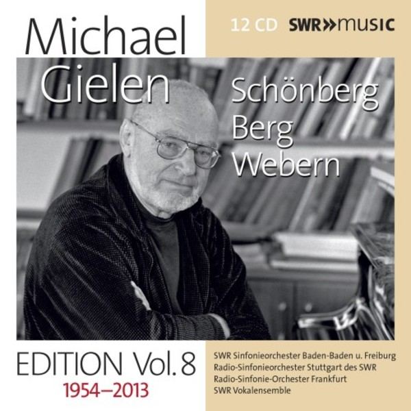 Michael Gielen Edition Vol.8: Schoenberg, Berg, Webern | SWR Music SWR19063CD