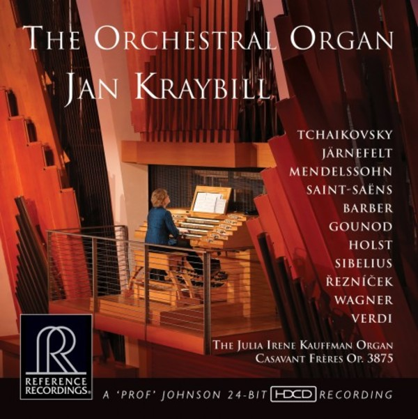 The Orchestral Organ | Reference Recordings RR145