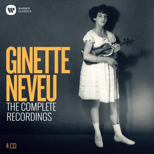 Ginette Neveu: The Complete Recordings | Warner 9029549048