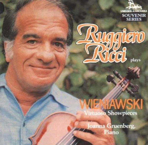Ruggiero Ricci plays Wieniawski - Virtuoso Showpieces