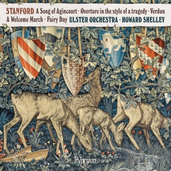 Stanford - A Song of Agincourt, Verdun, Fairy Day, etc. | Hyperion CDA68283