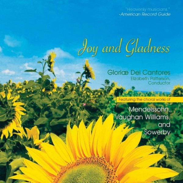 Joy and Gladness: Favourite Anthems of Celebration | Paraclete Recordings GDCD113