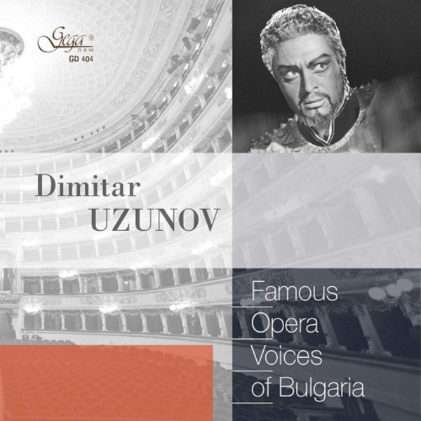 Famous Opera Voices of Bulgaria: Dimitar Uzunov | Gega New G404