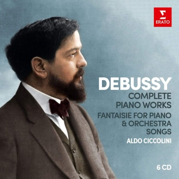 Debussy - Complete Piano Works, Fantaisie for Piano & Orchestra, 25 Songs