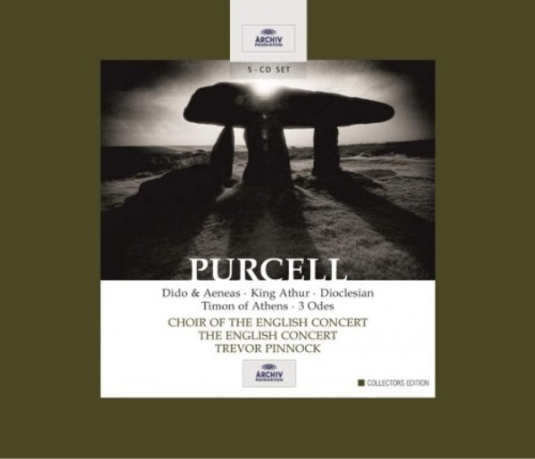 Purcell - Dido & Aeneas, King Arthur, Dioclesian, Timon of Athens, 3 Odes | Deutsche Grammophon 4746722