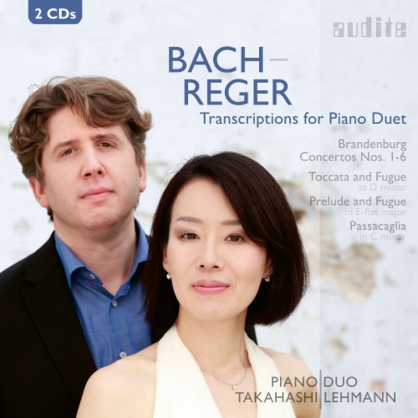 Bach-Reger - Transcriptions for Piano Duet