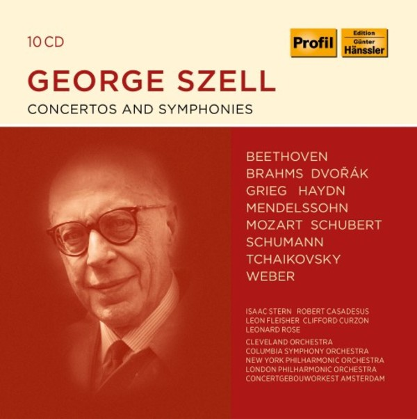 George Szell conducts Concertos and Symphonies | Profil PH19018