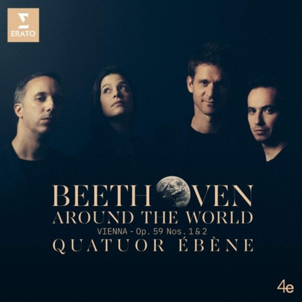 Beethoven Around the World: Vienna - String Quartets op.59 nos. 1 & 2 | Erato 9029539602