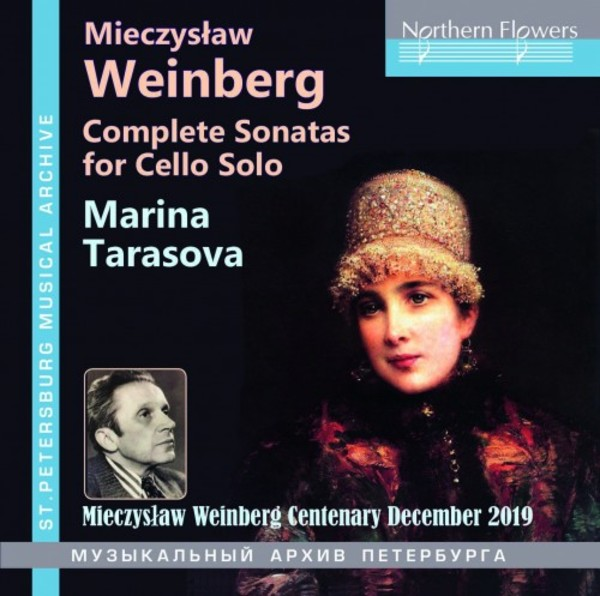 Weinberg - Complete Sonatas for Cello Solo