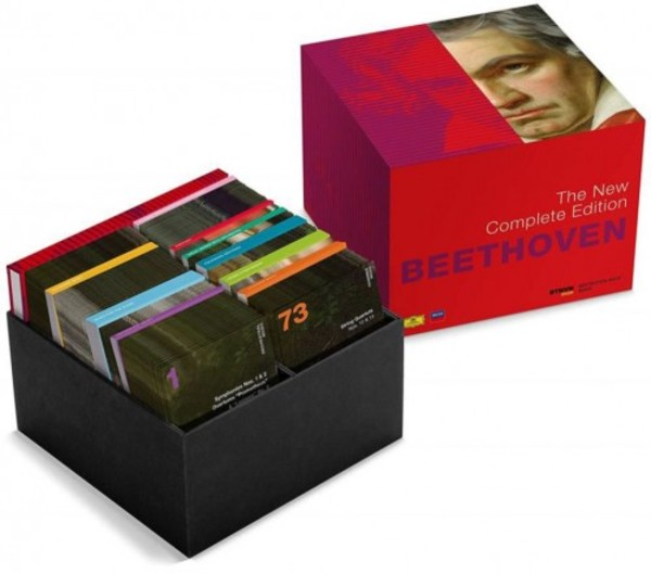 Beethoven - The New Complete Edition (CD + Blu-ray Audio + DVD) | Deutsche Grammophon 4836767
