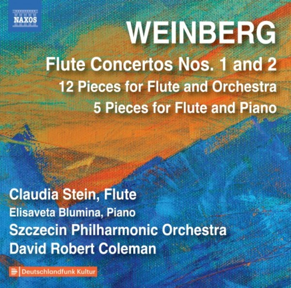 Weinberg - Flute Concertos 1 & 2, 12 Pieces for Flute & Orchestra, 5 Pieces for Flute & Piano