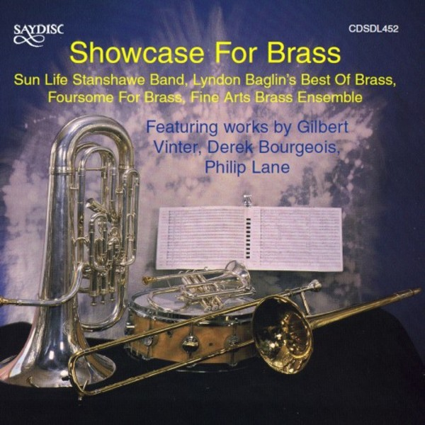 Showcase for Brass | Saydisc CDSDL452
