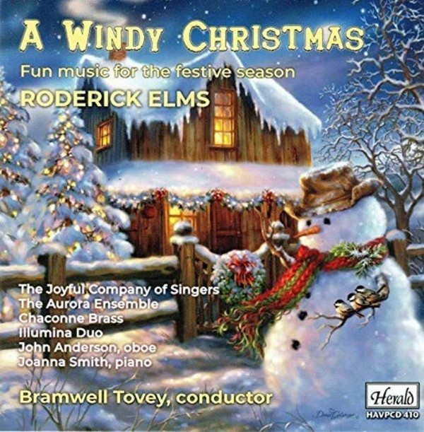 Roderick Elms - A Windy Christmas: Fun Music for the Festive Season