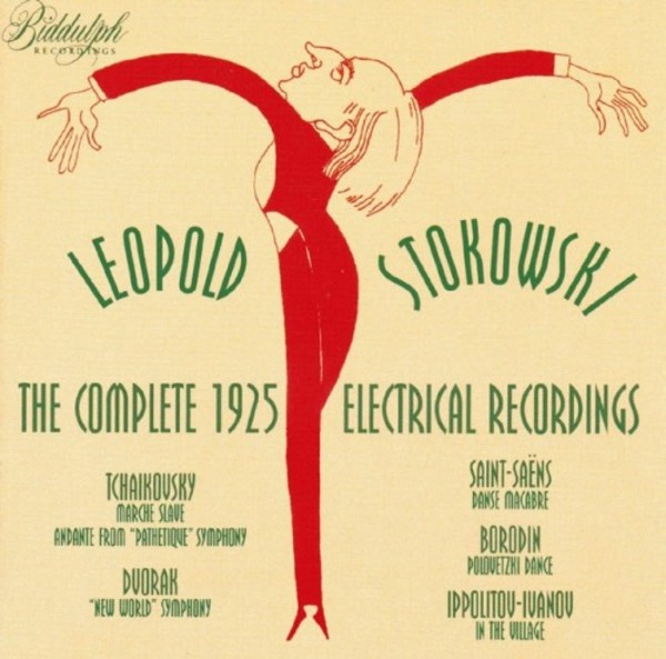 Stokowski: The Complete 1925 Electrical Recordings | Biddulph 830722