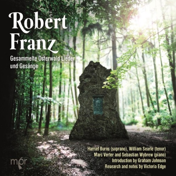 R Franz - Complete Osterwald Lieder and Songs | MPR MPR106