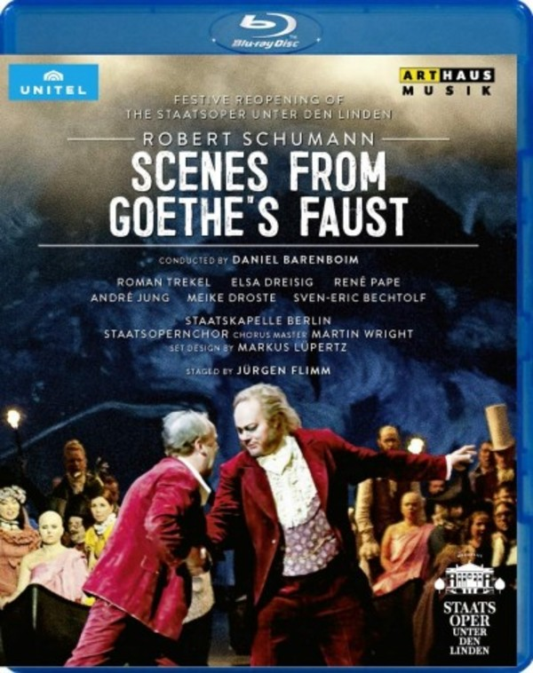 Schumann - Scenes from Goethe's Faust (Blu-ray) | Arthaus 109419