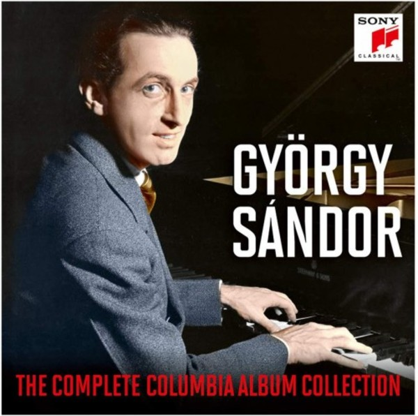 Gyorgy Sandor: The Complete Columbia Album Collection | Sony 19075938822