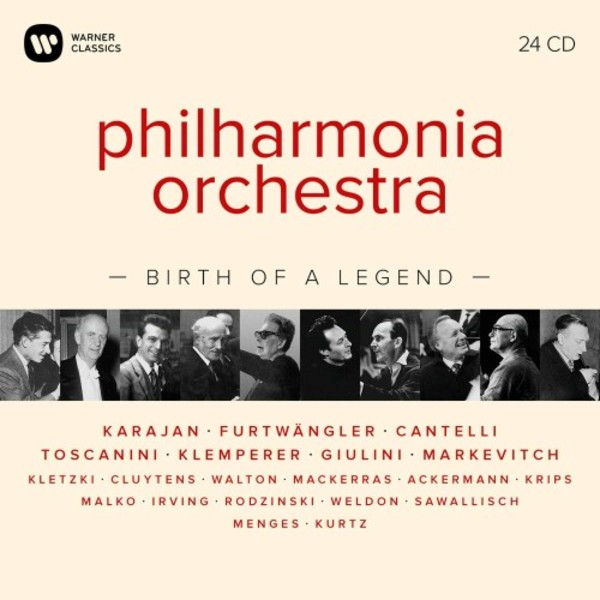 Philharmonia Orchestra: Birth of a Legend
