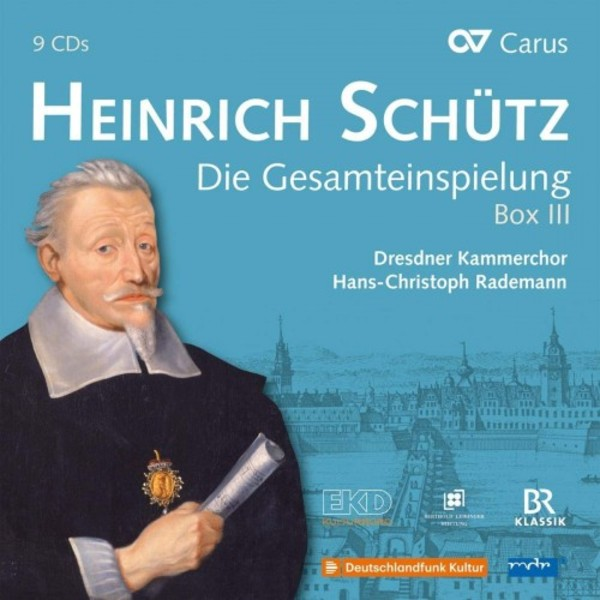 Schutz - Complete Recordings Box 3 (Volumes 15-20)