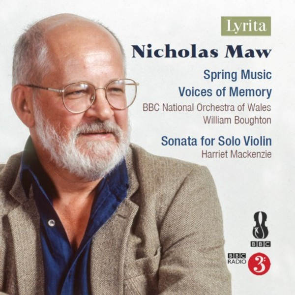 Maw - Spring Music, Voices of Memory, Solo Violin Sonata